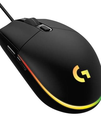 Myš  Logitech Gaming G102 Lightsync čierna