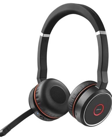 Headset  Jabra Evolve 75 UC Stereo čierny