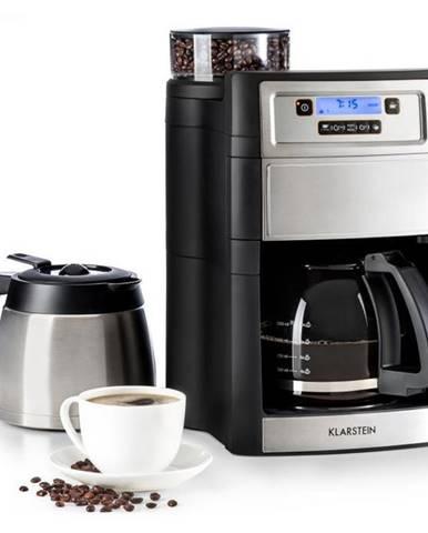 Kávovar Klarstein Aromatica II Duo strieborn