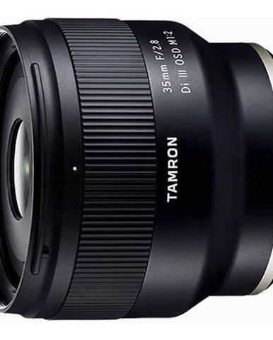 Objektív Tamron 35 mm F/2.8 Di III RXD 1/2 Macro Sony čierny