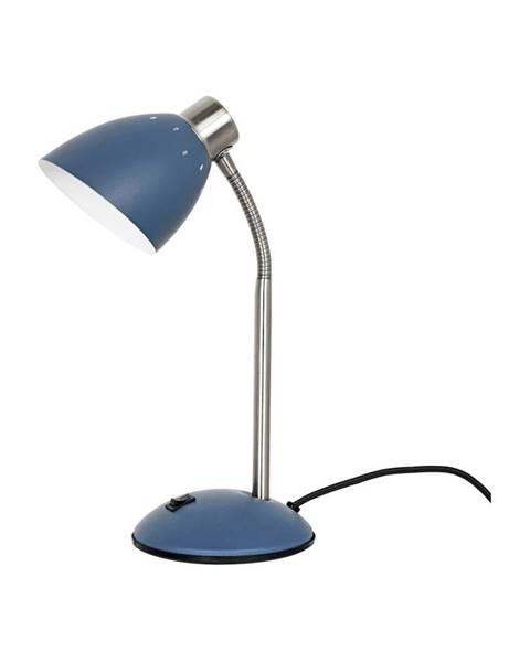 Leitmotiv Modrá stolová lampa Leitmotiv Dorm