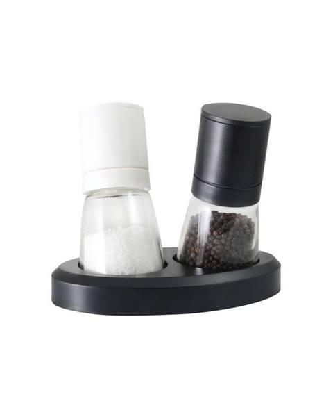 Vialli Design Sada mlynčekov na korenie a soľ Vialli Design Black&White