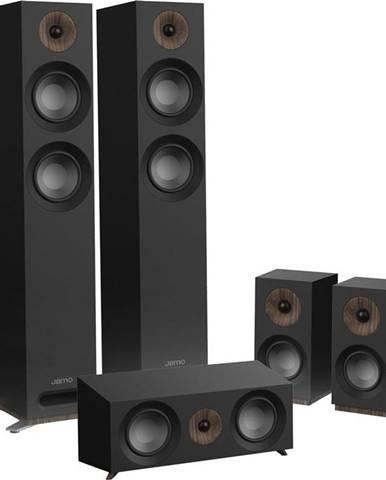 Reproduktory Jamo S 807 HCS, set čierny