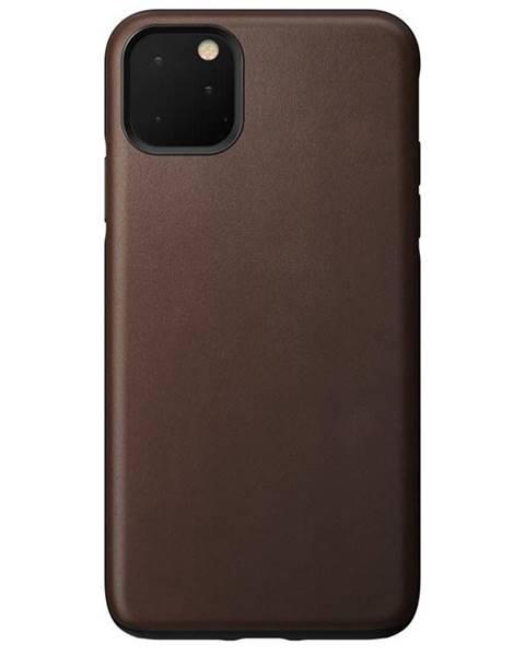 NOMAD Kryt na mobil Nomad na Apple iPhone 11 Pro Max hnedý