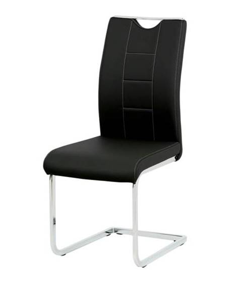 Sconto Jedálenská stolička ARABELA čierna