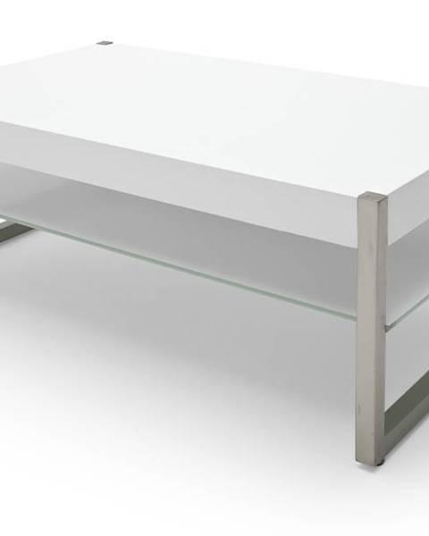 Sconto Konferenčný stolík SETH 2 biela