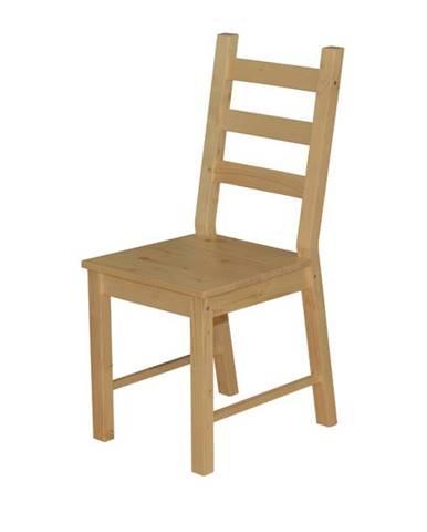 Jedálenská stolička ANTON prírodná