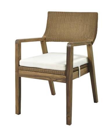 Jedálenská stolička GEMA hnedá