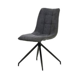 Jedálenská stolička CECILIA sivá