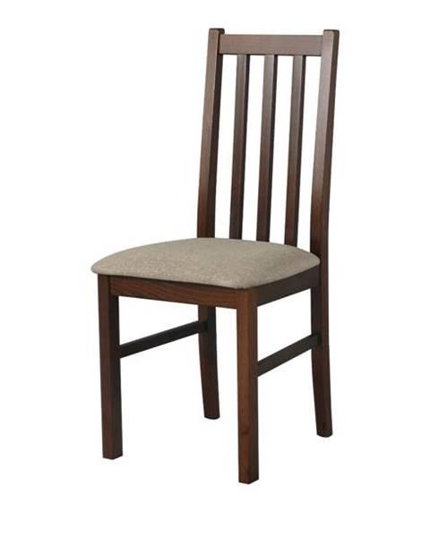 Sconto Jedálenská stolička BOLS 10 svetlohnedá