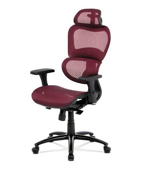 Sconto Kancelárska stolička GERRY červená