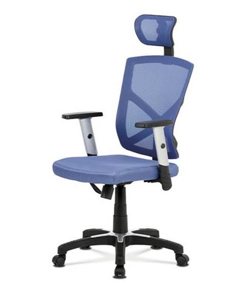 Sconto Kancelárska stolička PETER modrá
