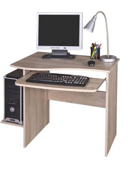 Sconto PC stôl MAXIM dub sonoma