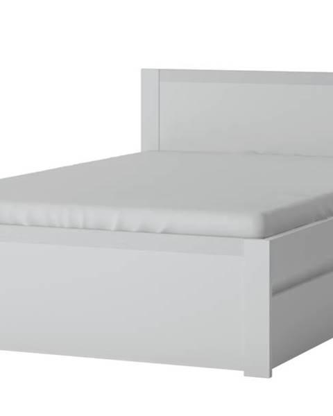 Sconto Posteľ NOVI biela, 120x200 cm