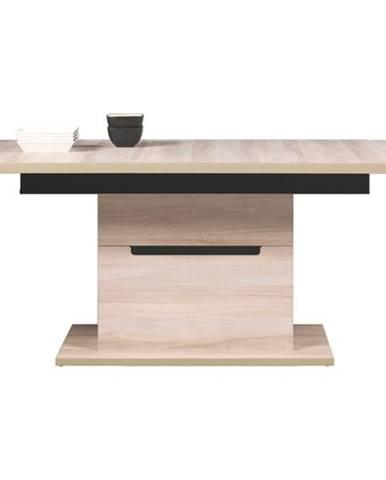 Jedálenský stôl ENIS DS10 brest/čierna
