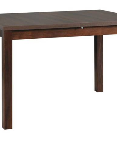 Jedálenský stôl MAXIM 5 tmavohnedá/orech