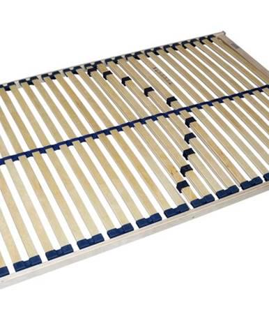 Pevný lamelový rošt DOUBLE T5 120x200 cm