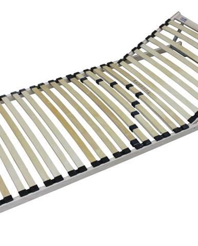 Polohovací lamelový rošt SINGLE H+T5 90x200 cm