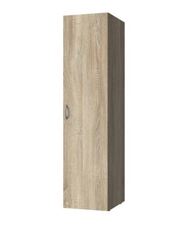 Viacúčelová skriňa MULTIRAUMKONZEPT 637, dub sägerau, 30 cm