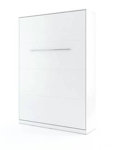 Výklopná posteľ CONCEPT PRO CP-01 biela, 140x200 cm