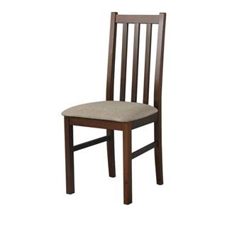 Jedálenská stolička BOLS 10 svetlohnedá
