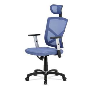Kancelárska stolička PETER modrá