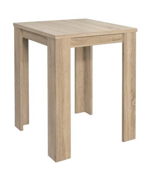 Sconto Barový stôl BAR 80 SAG dub sägerau