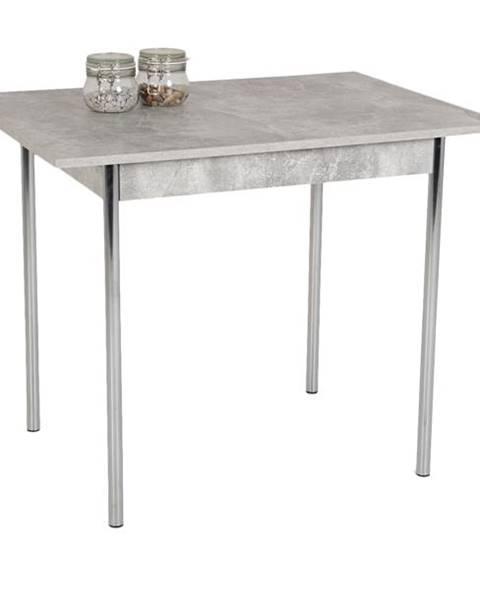 Sconto Jedálenský stôl KOELN II betón/chróm
