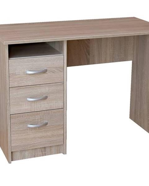 Sconto Písací stôl DOMINIK dub sonoma