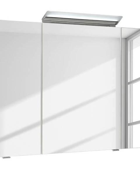 Sconto Zrkadlová skrinka s osvetlením FILO ORIA III biela
