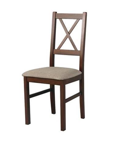 Jedálenská stolička NILA 10 hnedá