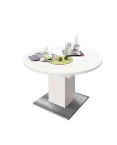 Jedálenský stôl RUND 104 1010 biela