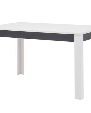 Jedálenský stôl WHITNEY GREY biela/sivá