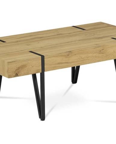 Konferenčný stolík LAS PALMAS divoký dub/kov