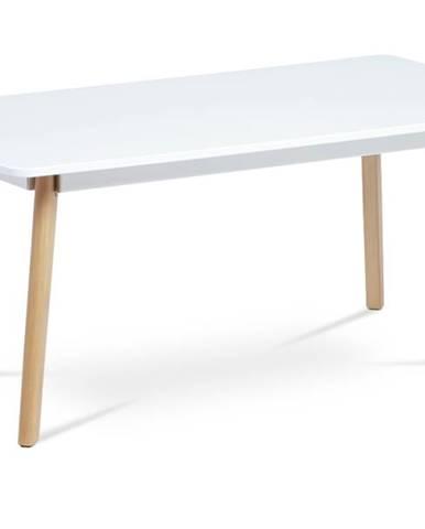 Konferenčný stolík LYON biela/buk