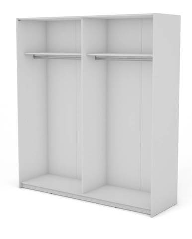 Korpus skrine BOSTON 150 biela, šírka 200 cm