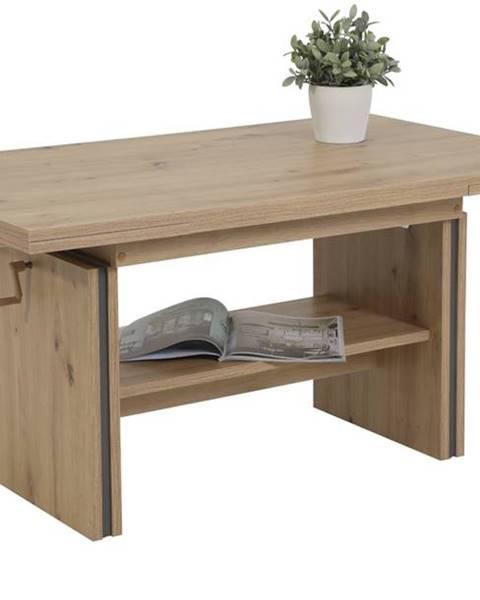 Sconto Konferenčný stolík HILMAR dub artisan