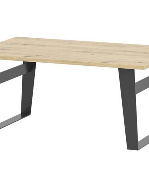 Sconto Konferenčný stolík SOFT LT15 dub artisan/čierna