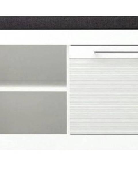 Sconto Lavica/úl.priestor na topánky FELINO 9 biela vysoký lesk