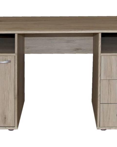 Sconto Písací stôl KUBA dub sanremo