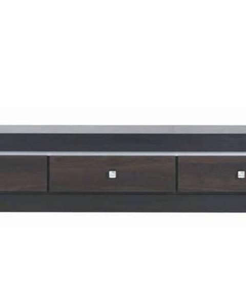 Sconto TV stolík MALLORCA FR1 orech tmavý/dub milano