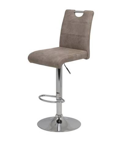 Barová stolička MIRANDA H hnedá