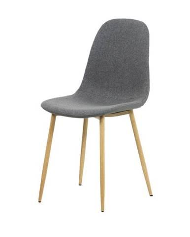 Jedálenská stolička ADRIANNE sivá