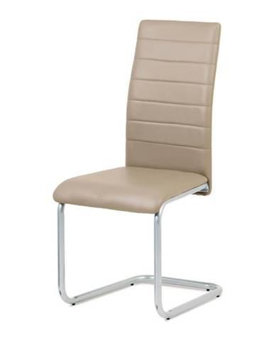 Jedálenská stolička LILY cappuccino