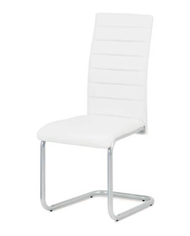 Jedálenská stolička LILY biela