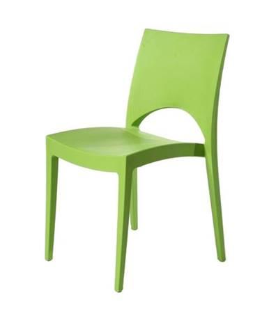 Jedálenská stolička PARIS zelená