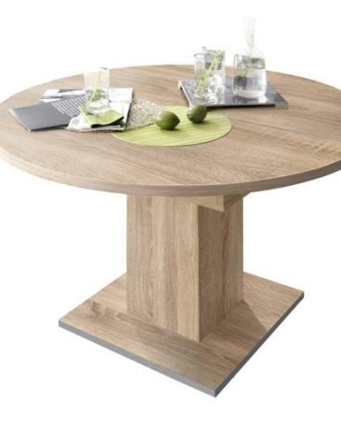 Jedálenský stôl RUND 120 1010 dub sägerau