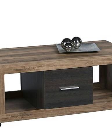Konferenčný stolík CANCAN orech satin/touchwood