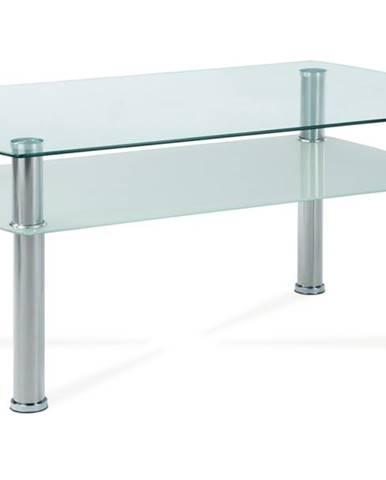 Konferenčný stolík HAGEN 1 sklo/kov
