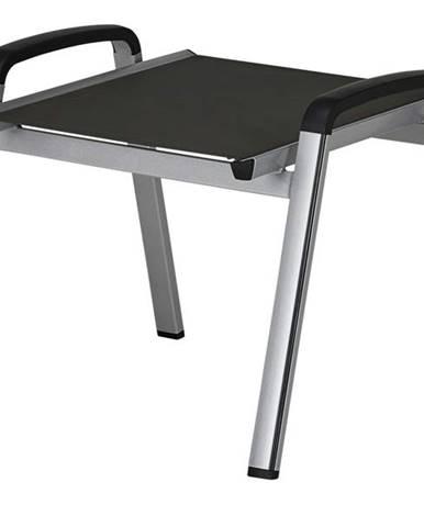 Záhradná stolička ELEMENTS strieborná/antracit